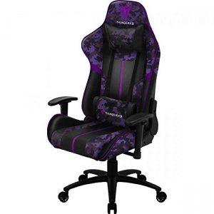 cadeira gamer roxa